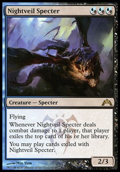 Magic the Gathering Gatecrash Single Nightveil Specter FOIL - NEAR MINT (NM)