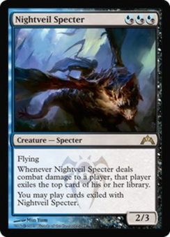 Magic the Gathering Gatecrash Single Nightveil Specter UNPLAYED (NM/MT)