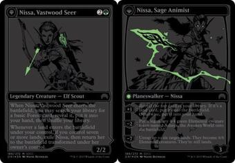 Magic the Gathering Promo Single Nissa, Vastwood Seer SDCC Exclusive - NEAR MINT (NM)