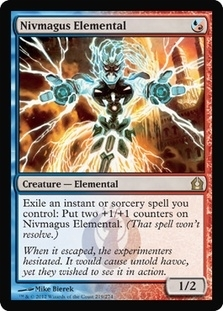 Magic the Gathering Return to Ravnica Single Nivmagus Elemental - NEAR MINT (NM)