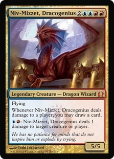 Magic the Gathering Return to Ravnica Single Niv-Mizzet, Dracogenius - NEAR MINT (NM)