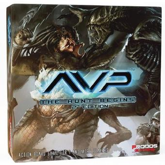 Alien Vs Predator 2nd Edition: The Hunt Begins (Prodos Games)