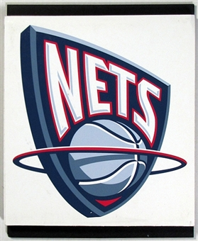 New Jersey Nets 2004 NBA Draft Board Team Logo Panels