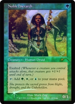 Magic the Gathering Promo Single Noble Hierarch FOIL (Judge)
