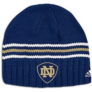 Notre Dame Fighting Irish Adidas Cuffless Skully Knit Hat (One Size Fits All)