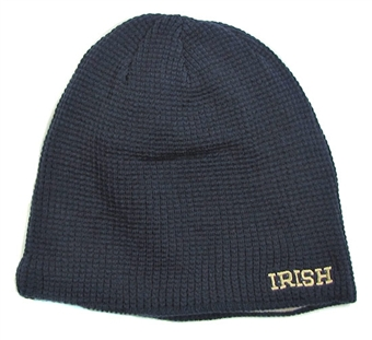 Notre Dame Fighting Irish Reebok Reversible Cuffless Knit Hat