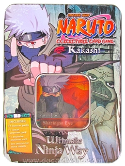 Naruto Ultimate Ninja Way - Kakashi Tin (Bandai 2007)