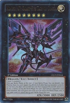 Yu-Gi-Oh Lord Tachyon Galaxy 1st Ed. Single Number 107: Galaxy-Eyes Tachyon Dragon Ultra Rare - NEAR MINT (NM)