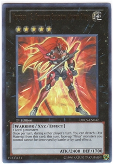 Yu-Gi-Oh Order of Chaos Single Number 12: Crimson Shadow Armor Ninja Ultra Rare