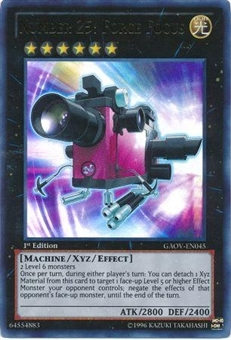 Yu-Gi-Oh Galactic Overlord Single Number 25: Focus Force Ultra Rare