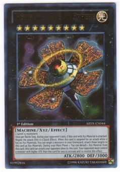 Yu-Gi-Oh Abyss Rising Single Number 9: Dyson Sphere Ultimate Rare