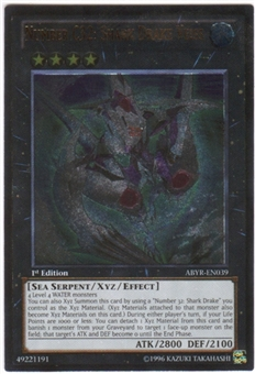 Yu-Gi-Oh Abyss Rising Single Number C32: Shark Drake Veiss Ultimate Rare