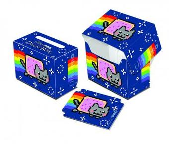 Ultra Pro Nyan Cat Full View Side Load Deck Box - Regular Price $2.99 !!!