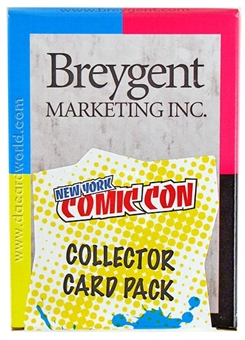 New York Comic Con Collector Card Pack (Breygent 2012) (Lot of 3)
