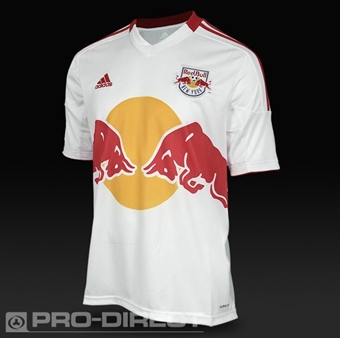 New York Red Bulls Adidas ClimaCool White Replica Jersey