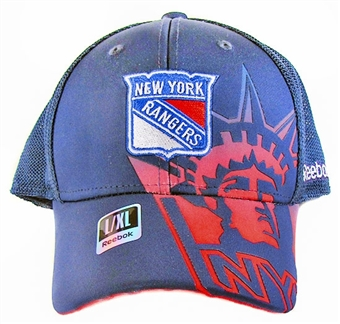 New York Rangers Reebok Team Pro Shape Flex Hat (Size L/XL)