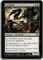Magic the Gathering Conflux Single Nyxathid UNPLAYED (NM/MT)