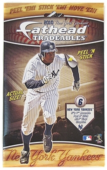 CLEARANCE New York Yankees 2010 Tradeable Fatheads - Regular Price $14.95 !!!