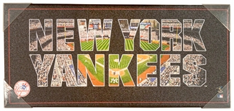 New York Yankees Artissimo Team Pride 12x26 Canvas