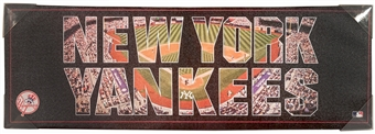 New York Yankees Artissimo Team Pride 36x12 Canvas