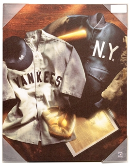 New York Yankees Jersey Collage 16x20 Artissimo