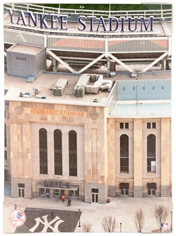 New York Yankees Stadium 18x24 Artissimo - Regular Price $49.99 !!!