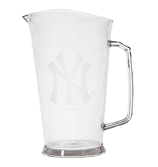 CLEARANCE - New York Yankees 32 oz Plastic Pitcher - Regular Price $9.95 !!!
