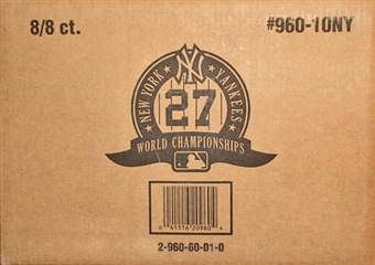 2010 Topps New York Yankees Baseball 27 World Championships 8-Box Case (64 Sets)