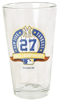 Boelter 16 OZ NY Yankee 27X Champ Pint Glass