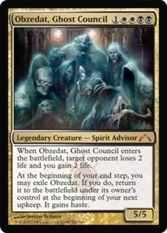 Magic the Gathering Gatecrash Single Obzedat, Ghost Council UNPLAYED (NM/MT)