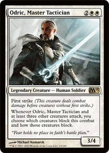 Magic the Gathering 2013 Single Odric, Master Tactician - 4x Playset - NEAR MINT (NM)