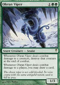 Magic the Gathering Coldsnap Single Ohran Viper - NEAR MINT (NM)