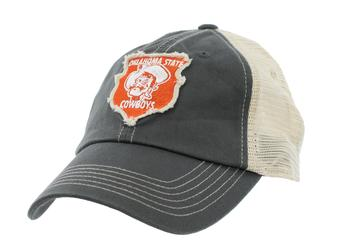Oklahoma State Cowboys Top Of The World Slated Gray Snapback Hat (Adult One Size)