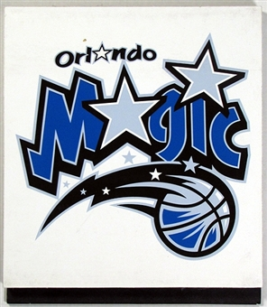 Orlando Magic 2004 NBA Draft Board Team Logo Panels