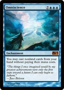 Magic the Gathering 2013 Single Omniscience FOIL - NEAR MINT (NM)