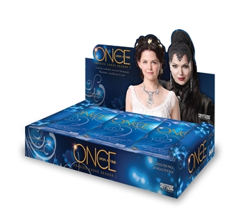 Once Upon A Time Season 1 Trading Cards Box (Cryptozoic 2014) (due Fall 2014)