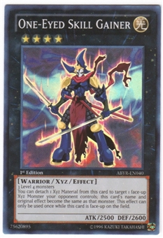 Yu-Gi-Oh Abyss Rising Single One-Eyed Skill Gainer Super Rare