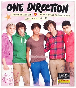 Panini One Direction Sticker Album
