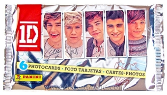 One Direction 4x6 Trading Card Pack (Panini 2012)