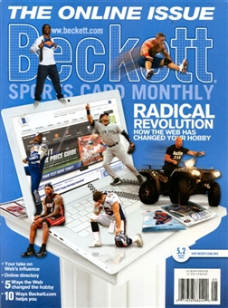 2012 Beckett Sports Card Monthly Price Guide (#326 May) (Online Issue)