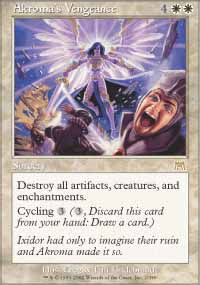 Magic the Gathering Onslaught Single Akroma's Vengeance UNPLAYED (NM/MT)