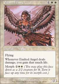 Magic the Gathering Onslaught Single Exalted Angel UNPLAYED (NM/MT)