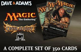 Magic the Gathering Onslaught A Complete Set - NEAR MINT / SLIGHT PLAY