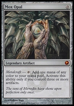 Magic the Gathering Scars of Mirrodin Single Mox Opal FOIL - NEAR MINT (NM)