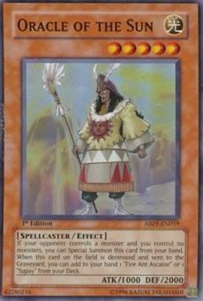 Yu-Gi-Oh Absolute Powerforce Single Oracle of the Sun Super Rare