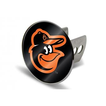 "Baltimore Orioles Rico Industries 4 "" Laser Trailer Hitch Cover"
