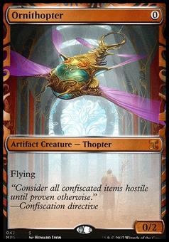 Magic the Gathering Kaladesh Inventions Single Ornithopter NEAR MINT (NM)