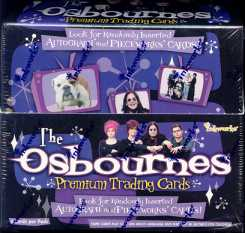 2006 The Osbournes Premium Trading Card Box (InkWorks)