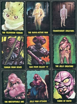 Outer Limits Complete 50 Card Set (Bubbles)