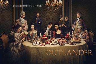Outlander Season Two Trading Cards Binder (Cryptozoic 2017) (Presell)